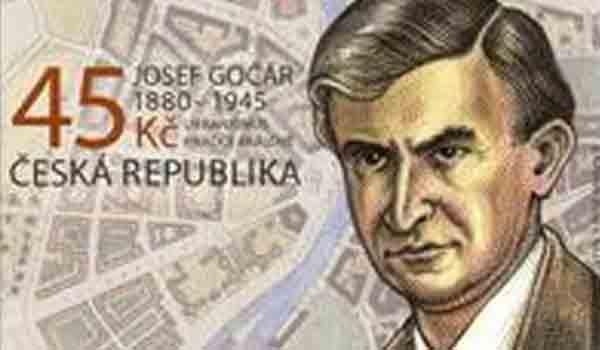 Česká pošta připravuje emisi známek s tématem Josefa Gočára a architektury Hradce Králové